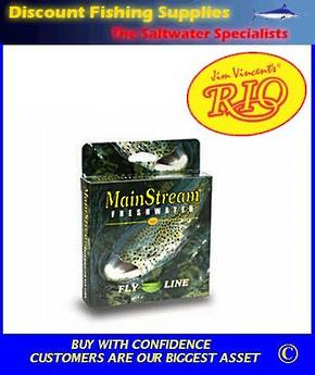 Rio Mainstream Intermediate Fly Line - WF7I Clear