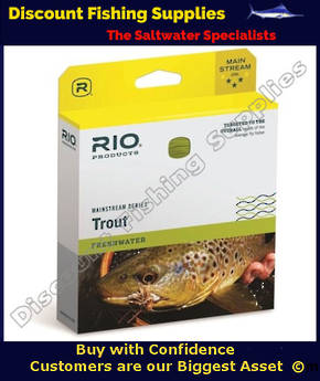 Rio Mainstream Floating Fly Line - WF7F Lemon Green