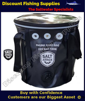 SALT ATTACK - ENGINE FLUSH BAG - LARGE