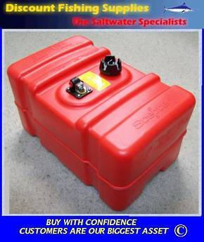 Scepter 45 Litre Fuel Tank - Tall Version