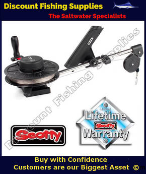Scotty Depthking Compact Manual Downrigger (1060)