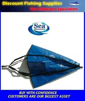 "Sea Harvester Sea Anchor SML 24"" Boats 14' - 16'"
