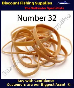 Sea Harvester Rubber Bands No 32