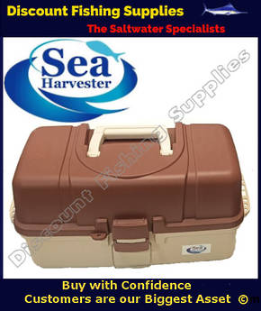Sea Harvester 3 Tray XL Large Tackle Box