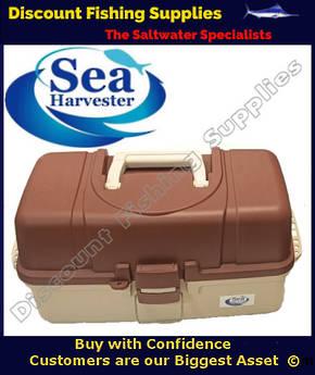 Sea Harvester 3 Tray XL Large Tackle Box