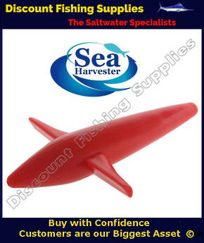 Sea Harvester Teaser Bird - RED 18cm