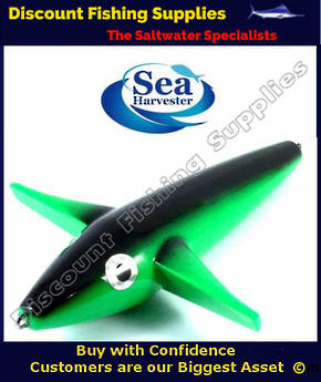 Sea Harvester Teaser Bird - Green 23cm
