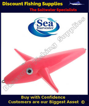 Sea Harvester Teaser Bird - PINK 23cm