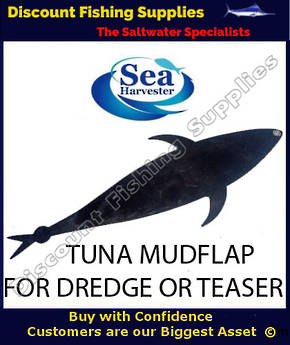Sea Harvester Tuna Mudflap for Dredge or Teaser