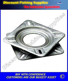 Seat Swivel - Stainless Steel