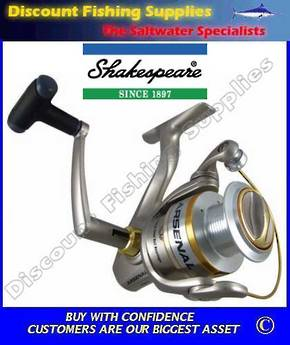 Shakespeare Arsenal AR080 Surf/Spin Reel