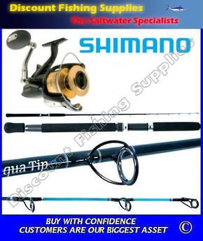 Shimano Baitrunner 8000D Aquatip 6-10kg Combo