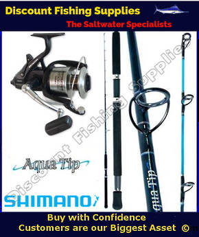 Shimano Baitrunner 12000OC Aquatip 15kg Combo