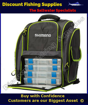 Shimano 4 Box Tackle Back Pack
