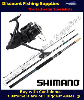 Shimano Big Baitrunner XTB 14000 Long Cast - AquaTip Surf Combo 14' 3pc