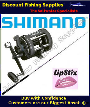 Shimano LIPSTIX Charter Special Boat Combo 10kg