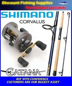 Shimano Corvalus 400 / Catana 7' Softbait Combo