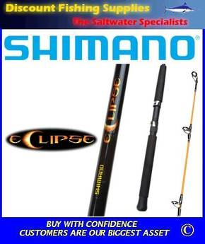 "Shimano Eclipse 2-4kg Spinning Rod 6'6"" 2pc"