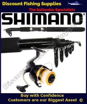 Shimano Eclipse 6' FX4000 Telescopic Spin Combo