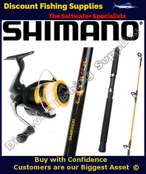 Shimano FX 2500 - Eclipse Spin Combo 2-4kg 6ft 2pc