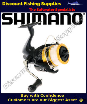 Shimano FX2500FCL Spinning Reel (With Line)