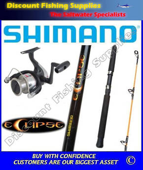 Shimano FX 2500 - Eclipse Spin Combo 6ft 4-8kg 5ft