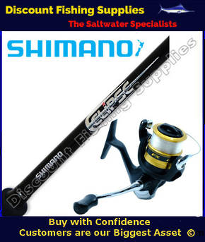Shimano FX 4000 - Eclipse Spin Combo 6ft 4-8kg