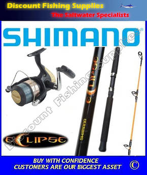 Shimano Eclipse - Hyperloop 6000 Spin Combo 8' 2pc