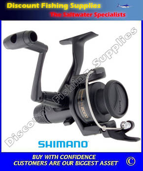 Shimano IX2000 Rear Drag Spin Reel WITH LINE
