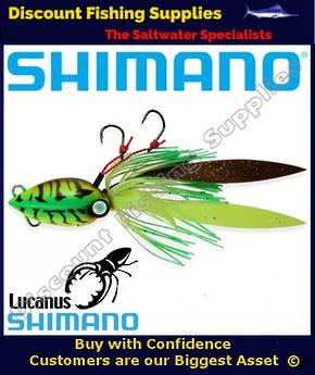 Shimano Lucanus Jig 60gm - Chartreuse Shrimp