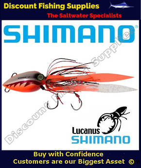 Shimano Lucanus Jig 60gm - Orange/White
