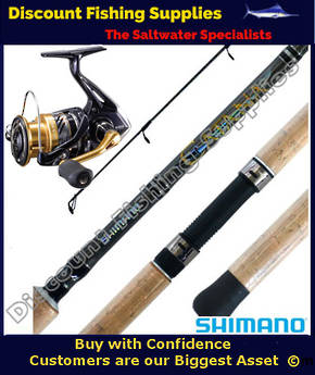 Shimano Nasci 4000 - Catana Softbait Combo 6-8kg 2pc