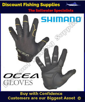 Shimano Ocea Jigging Gloves Large