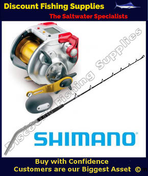 Shimano Dendou Maru Plays 4000 Electric Reel - Status 24kg Combo