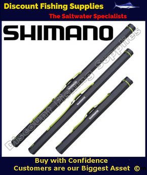 "Shimano Rod Tube - Suits 3pc Surf Rods 6"" 1piece or 8'3"" 2pc Stickbait rods"