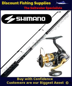Shimano Sahara 4000 - Catana Soft Bait Combo 6-8kg 2pc