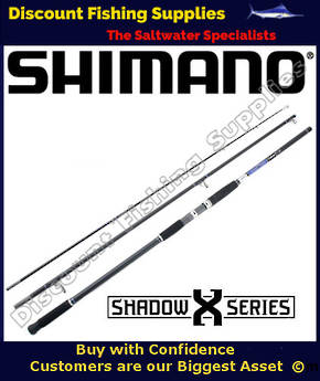 Shimano Shadow X Nano Surf Rod 15ft 10-15kg 3pc