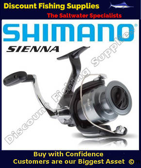 Shimano Sienna 2500FE Softbait Reel