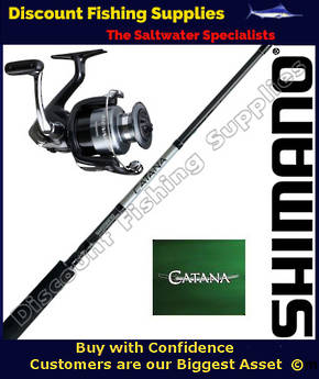 Shimano Sienna 4000FE / Catana Softbait Set 2pc 6-8kg