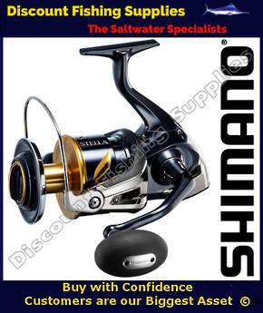 Shimano Stella 20000SW PGC Spin Reel