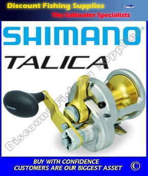 Shimano Talica 16II 2 speed Reel