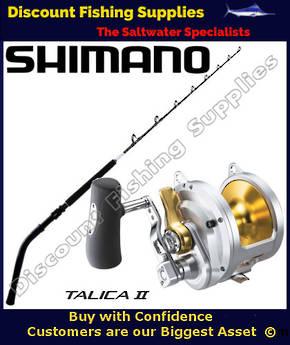 Shimano Talica 50II Abyss Bent Butt 100lb Combo