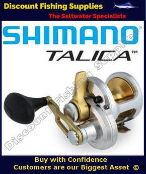 Shimano Talica 8 High Speed Jigging Reel