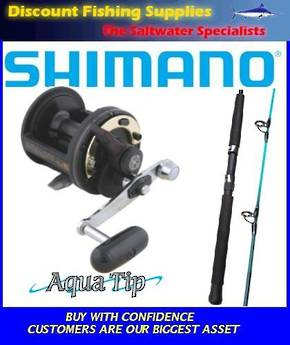 Shimano TLD15 / Aquatip Combo 15kg