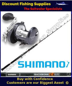 Shimano Torium 30HGA Backbone Elite 37kg Jigging Combo