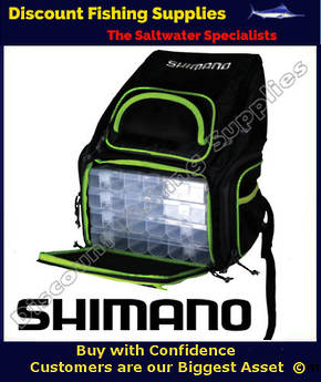SHIMANO TREKKING BACKPACK WITH 2 BOXES