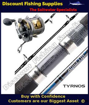 Shimano Tyrnos 20 / Aquatip 24kg Boat Set