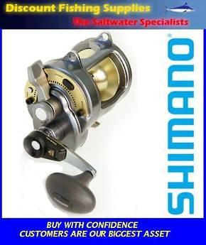 Shimano Tyrnos 30 - 2 Speed Boat Reel