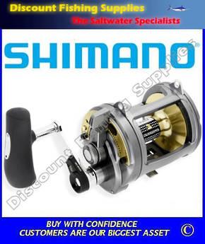 Shimano Tyrnos 50LRS 2 Speed Overhead Reel