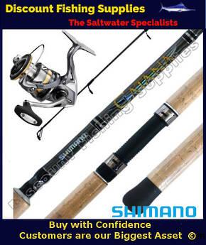 Shimano Catana - Ultegra 4000FB XG Soft Bait Combo